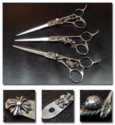 シルバー(銀)装飾鋏