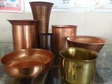銅・真鍮の絞り