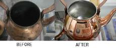 銅製品の修理