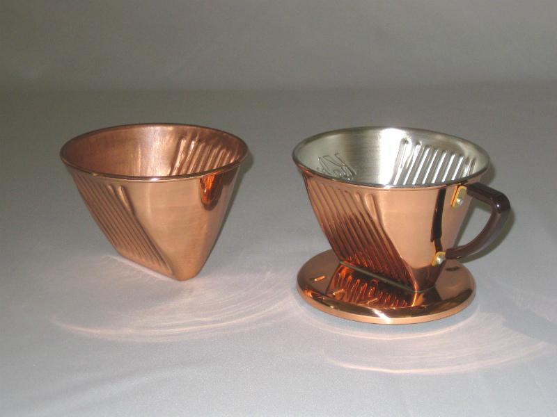 銅製コーヒードリッパーOEM