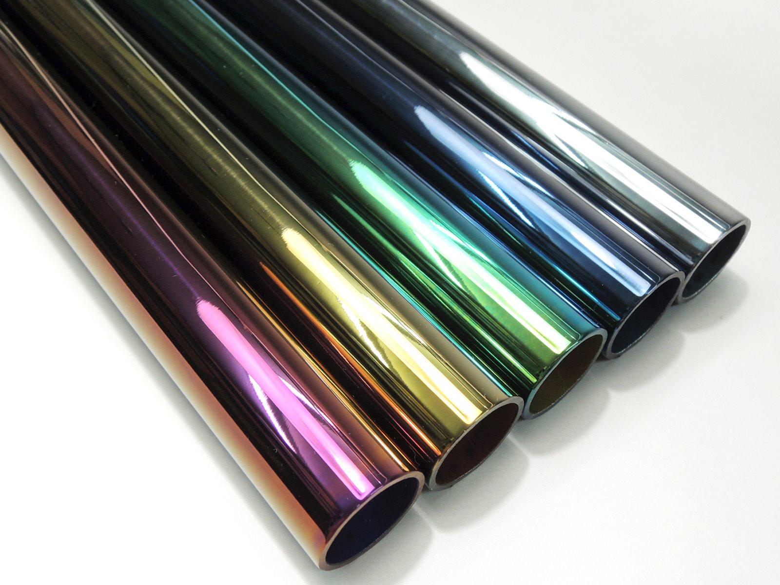ステンレス酸化発色